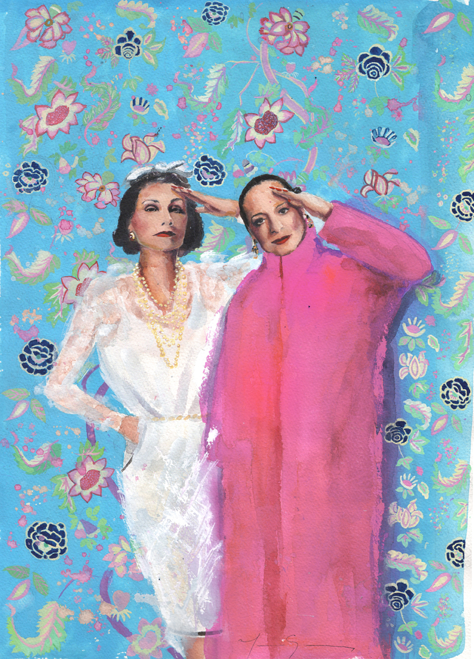 Marcela-Gutierrez-Diana-Vreeland-The-only-good-room